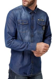 Camisas Jeans Masculinas